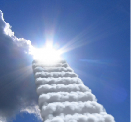 Cloud Staircase